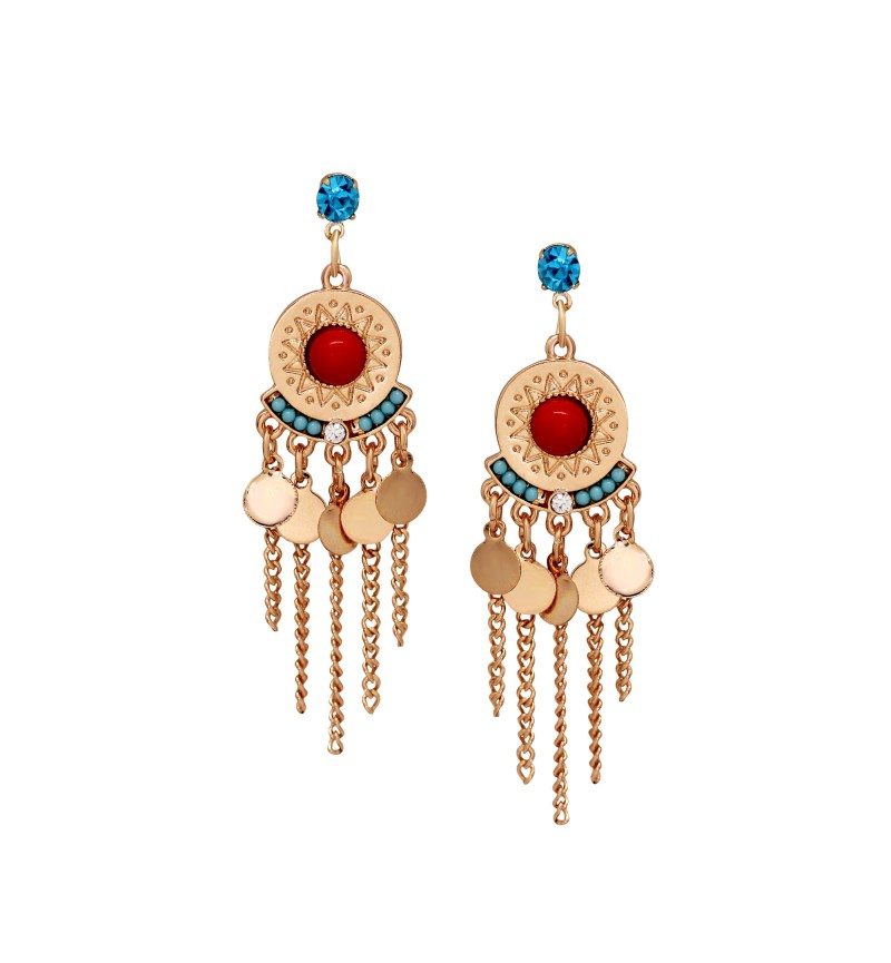 Atasi International Bohemian Style Chandbali Earring Set for Women