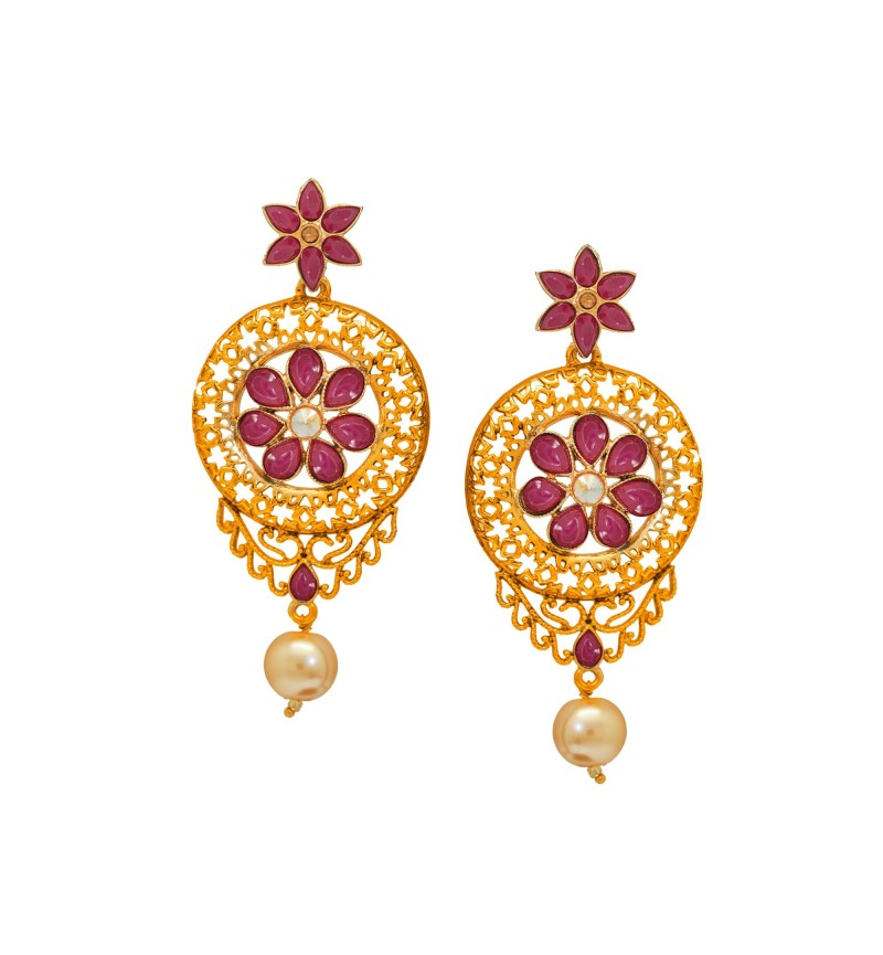 Atasi International Pearl Drop Earrings for Women