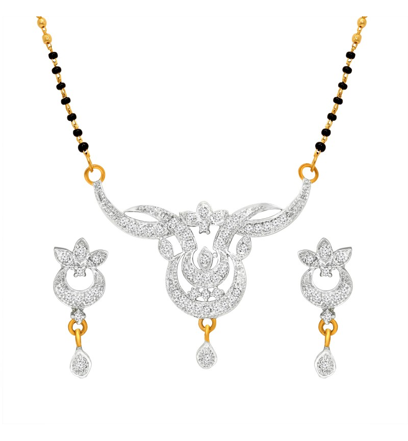Atasi International Designer Mangalsutra Gold Plated Mangalsutra Set for Women
