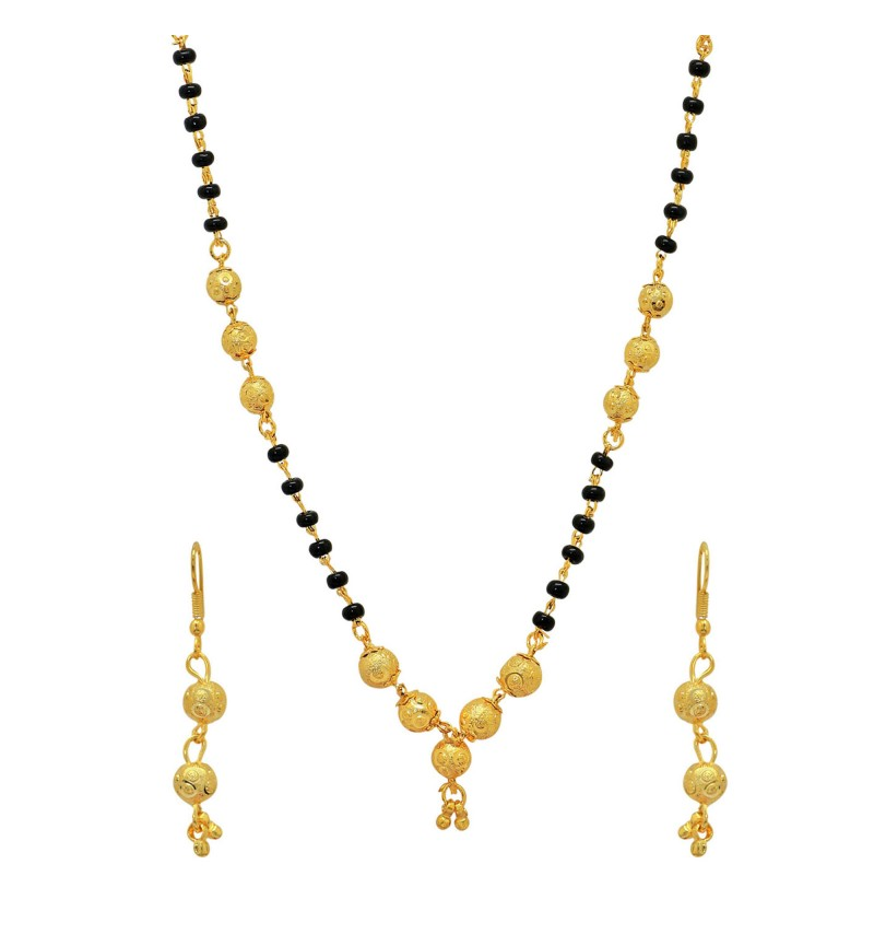 Atasi International Gold Plated Mangalsutra Set for Women